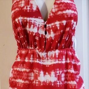 c951cd1c6e81c Lane Bryant Swim - 🆕 Lane Bryant Tie-Dye Swim Dress Plus Size 40D